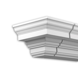 Facade mouldings - End Element Profhome Decor 431231 | Facade | e-Delux