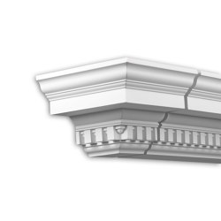Facade mouldings - End Element Profhome Decor 431232 | Facade | e-Delux
