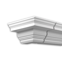 Facade mouldings - External Angle Joint Element Profhome Decor 431311 | Facade | e-Delux