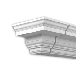 Facade mouldings - End Element Profhome Decor 431331 | Facade | e-Delux