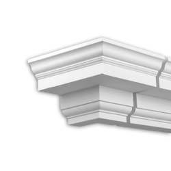 Facade mouldings - External Angle Joint Element Profhome Decor 432111 | Facade | e-Delux