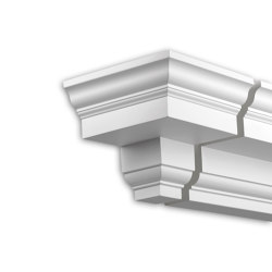 Facade mouldings - End Element Profhome Decor 432131 | Facade | e-Delux
