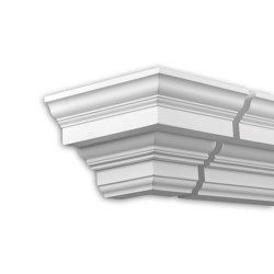 Facade mouldings - External Angle Joint Element Profhome Decor 432211 | Facade | e-Delux