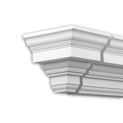 Facade mouldings - End Element Profhome Decor 432231 | Facade | e-Delux