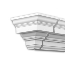 Facade mouldings - End Element Profhome Decor 432232 | Facade | e-Delux