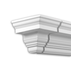 Facade mouldings - End Element Profhome Decor 432332 | Facade | e-Delux