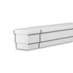 Facade mouldings - End Element Profhome Decor 434131 | Facade | e-Delux