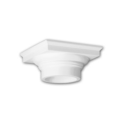 Facade mouldings - Column Capital Profhome Decor 441101 | Facade | e-Delux