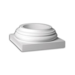 Facade mouldings - Full column segment Profhome Decor 443101 | Facade | e-Delux