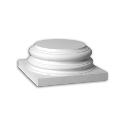 Facade mouldings - Full column segment Profhome Decor 443202 | Facade | e-Delux