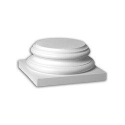Facade mouldings - Full column segment Profhome Decor 443302 | Facade | e-Delux