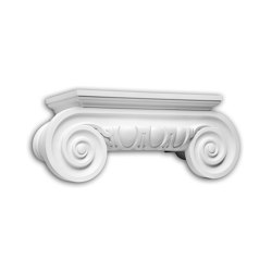 Facade mouldings - Half Column Capital Profhome Decor 445201 | Facade | e-Delux