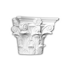 Facade mouldings - Half Column Capital Profhome Decor 445301 | Facade | e-Delux