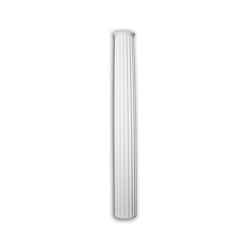 Facade mouldings - Half Column Shaft Profhome Decor 446201 | Facade | e-Delux