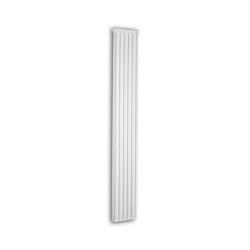 Facade mouldings - Pilaster Schaft Profhome Decor 452102 | Facade | e-Delux