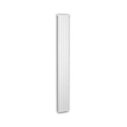 Facade mouldings - Pilaster Schaft Profhome Decor 452302 | Facade | e-Delux