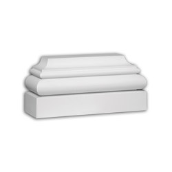 Facade mouldings - Pilaster Base Profhome Decor 453101 | Facade | e-Delux