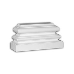 Facade mouldings - Pilaster Base Profhome Decor 453201 | Facade | e-Delux