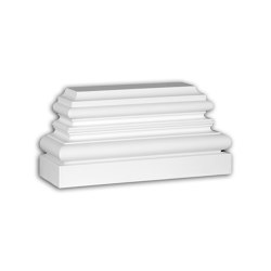 Facade mouldings - Pilaster Base Profhome Decor 453301 | Facade | e-Delux