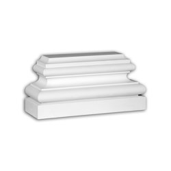 Facade mouldings - Pilaster Base Profhome Decor 453302 | Facade | e-Delux