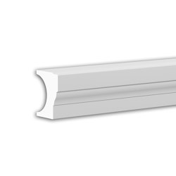 Facade mouldings - Half Balustrade Railing Profhome Decor 472111 | Facade | e-Delux