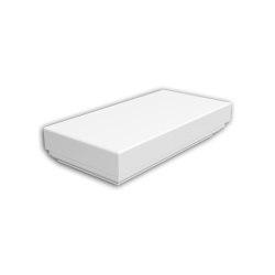 Facade mouldings - Half Balustrade Cap Profhome Decor 473111 | Facade | e-Delux