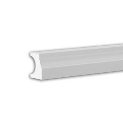 Facade mouldings - Half Balustrade Base Profhome Decor 474211 | Facade | e-Delux