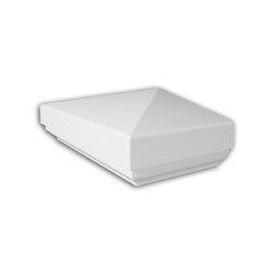 Facade mouldings - Half Balustrade Cap Profhome Decor 476111 | Facade | e-Delux