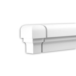 Facade mouldings - End Element Profhome Decor 482031 | Facade | e-Delux