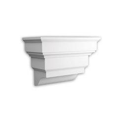 Facade mouldings - Corbel Profhome Decor 483101 | Facade | e-Delux