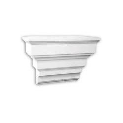 Facade mouldings - Corbel Profhome Decor 483102 | Facade | e-Delux
