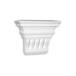 Facade mouldings - Corbel Profhome Decor 483302 | Facade | e-Delux