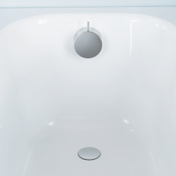 """A24 - 1½"""" pop-up waste with inlet through overflow 