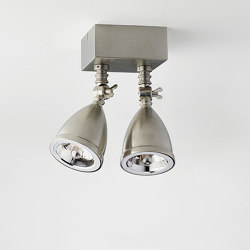 Lilley Shade Twin | Ceiling lights | Tekna