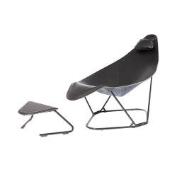 Abrazo Black Black Frame | Armchairs | Cuero Design