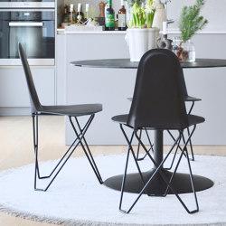 Cactus Black Black Frame | Sedie | Cuero Design