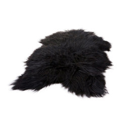 Icelandic Sheepskin Black | Rugs | Cuero Design