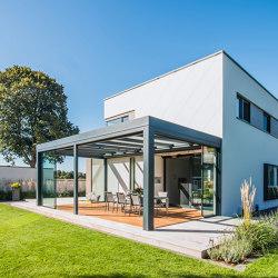 Glass canopy SDL Acubis | Winter gardens | Solarlux