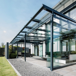 Glass canopy SDL Atrium | Winter gardens | Solarlux