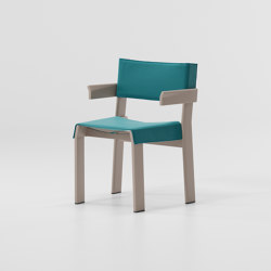 Band armchair aluminium | Chairs | KETTAL