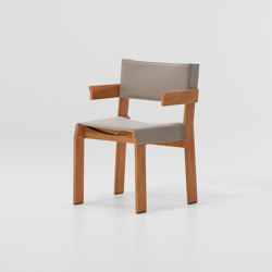 Band armchair teak | Chairs | KETTAL