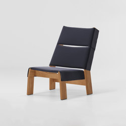 Band club chair teak | Sillones | KETTAL