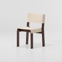 Band dining chair aluminium | Chairs | KETTAL