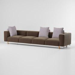 Molo 4 seater sofa | Canapés | KETTAL