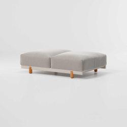 Molo Bench XL 2-seater | Bancos | KETTAL