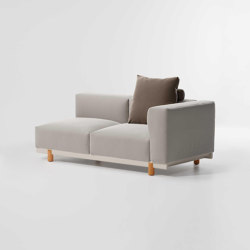 Molo Right corner 2-seater | Sofas | KETTAL