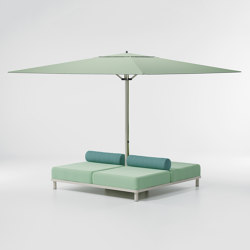 Meteo Daybed base parasol | Parasols | KETTAL