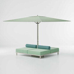 Objects Meteo Daybed base parasol | Parasols | KETTAL