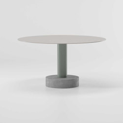 Roll Dining table ø135 | Dining tables | KETTAL