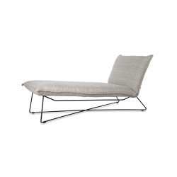 Earl outdoor lounge ral white/grey/black | Sun loungers | Jess